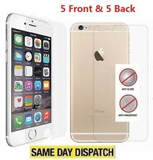 Anti-Glare Matte 5 Front &5 Back Screen Protectors Film for iPhone 6/6s Plus 5.5
