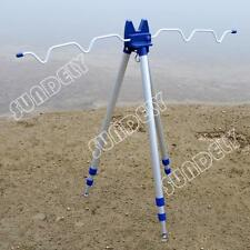 Fishing Rods Tripod Stand Rest for Sea Beach Coarse Shore Pier Tackle Telescopic
