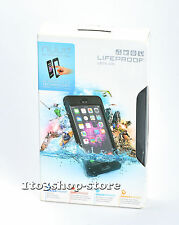 LifeProof nuud Waterproof Water Dust Proof Hard Case fo iPhone 6 Plus Black USED