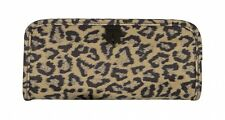 Travelon Jewelry and Cosmetic Clutch, Leopard 42711-030