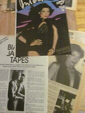 The Rolling Stones, Mick and Bianca Jagger, NINE Page Vintage Clipping