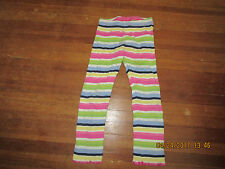 Gymboree Girl's Multicolored Stripped Leggings Size 3T