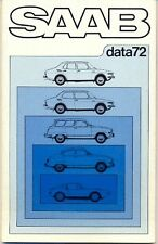 Saab 95 96 99 Sonett III multi-language DATA brochure 1971