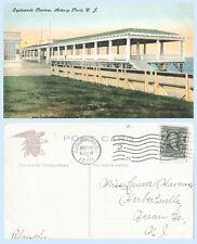Esplanade Review Asbury Park New Jersey 1908 IPC Building Postcard Architecture
