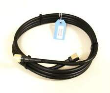 LMR 400 Equivalent Coax Cable - 10 Feet, Pre-Cut, Terminated N-Male Connectors