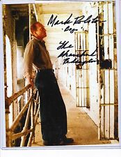 Signed Mark Rolston - Saw -  The Shawshank Redemption - COA