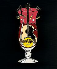 Hard Rock Cafe ONLINE Glass Guitar Pin. (P.4*)
