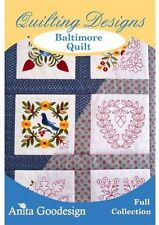 Baltimore Quilt Anita Goodesign Embroidery Design Cd