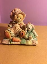 "Cherished Teddie ""Faith...Thers No Bunny Like You"" Released 1993"