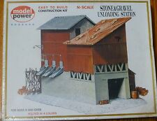 Model Power N #1518  Building Kit -- Stone & Gravel Depot