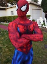 Amazing Spiderman costume Adult Halloween cosplay spandex Superhero zentai suit