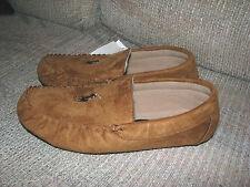 Men's $60 POLO-RALPH LAUREN Brown Moccasin PONY Slippers (11)