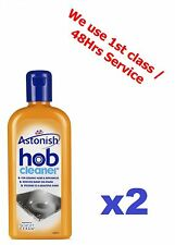 2x Astonish Hob Cleaner For Ceramic Hobs, Glass Halogen Hobs, Microwaves BBQ etc
