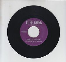 "TUFF GONG/ LIVELY UP YOURSELF  -   BOB MARLEY & THE WAILERS  (72  REGGAE  7"")"