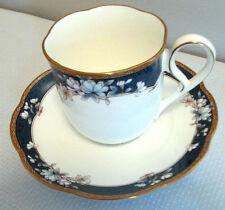 NORITAKE PATTERN SANDHURST # 9742 CUP AND SAUCER EXCELLENT