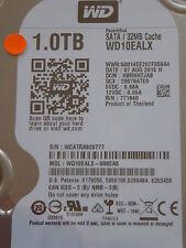 Western Digital WD 10 ealx - 008ea0/hbrnhtjab/07 Aug 2015 - 1 TB hard drive