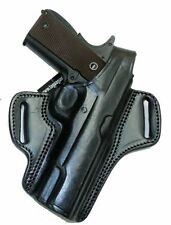 Colt 1911 Officer 3.5 Barrel Black Leather Retention Holster Right Tagua BH1-210