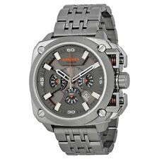 Diesel DZ7344 BAMF Gunmetal Ion Stainless Chronograph 56MM BRAND NEW AUTHENTIC