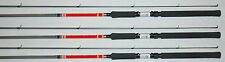 BnM WEST POINT CRAPPIE FISHING POLE,  ROD 11' WPCR11 SET OF 3 JIG OR TROLL B&M