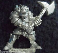1988 caos WARRIOR AXE 9 GAMES WORKSHOP WARHAMMER ESERCITO EVIL orde COMBATTENTE D&D