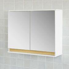 SoBuy® Spiegelschrank, Badspiegelschrank, Badezimmerschrank, FRG131-WN