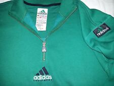 Adidas very rare vintage 90s Equipment Mint green sweatshirt zip top size L