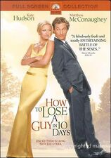How to Lose a Guy in 10 Days - Full Screen Collection. DVD (2003)