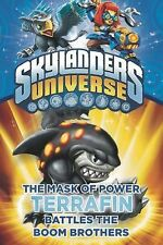 The Mask of Power: Terrafin Battles the Boom Brothers #4 (Skylanders Universe) b