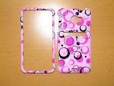 SPRINT HTC EVO LTE BUBBLES AND CIRCLES SNAP ON COVER/CASE NEW