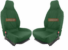 Front Pair Cabincraft Nissan Navara(D40) Airbag Compatible Waterproof Seat Cover