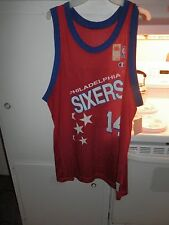 Vtg Jeff Hornacek Phila Sixers Champion Jersey size 48, 1992-1994  New with tags