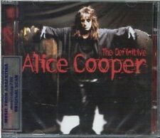 ALICE COOPER THE DEFINITIVE SEALED CD NEW GREATEST HITS BEST