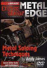 LICK LIBRARY EXTREME GUITAR Metal Edge SOLOING TECHNIQUES Learn to Play DVD 1