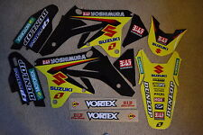ONE INDUSTRIES FACTORY TEAM SUZUKI GRAPHICS &  BACKGROUNDS RMZ250  2007 08  2009