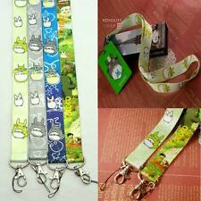 Totoro Cute Lanyard Design Neck Strap Cell Phone ID Card Camera Keychain Anime #