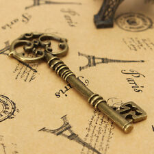 Vintage Punk Style Old Look Skeleton Key Lot Bow For Jewelry Making DIY Decor