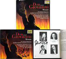 Bo SKOVHUS & LOTT Signed MOZART: DON GIOVANNI Brewer Hadley Focile MACKERRAS 3CD