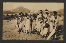Eritrea vintage rppc real photo postcard Ethiopian Marriage Procession