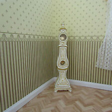 JIA YI DOLLS HOUSE LONGCASE COMTOISECLOCK 12TH SCALE NEW
