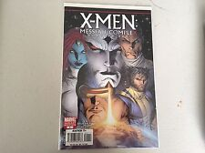 X-men: Messiah Complex Chapter One #1 NM Rare Variant First Printing
