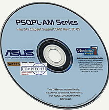 ASUS P5QPL-AM  SERIES MOTHERBOARD AUTO INSTALL DRIVERS M2715