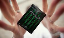 Artifice Second Edition V2 deck Green Ellusionist Bicycle Playing Cards