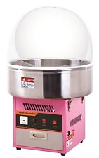 Candy Floss machine WITH COVER , +4kg suger + 200 Paper Cones ,+5 xLIGHT UP