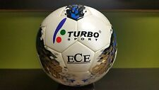 TURBO SPORT SC-385 SOCCER BALL OFFICIAL SIZE 5 PU LEATHER + EVA COVER