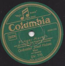 Orchester Josef Holzer mit Gesang : Flieger - Marsch