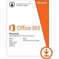 Microsoft Office 365 Personal 1 PC o Mac LICENZA 1 ANNO Product Key (qq2-00092)