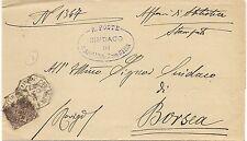 P5868   Rovigo, San apollinare con Selva, annullo ottagonale 1903