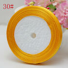 "Free Shipping wedding festival 25 Yard 3/8"" 10mm Craft Satin Ribbon Light Orange"