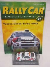 Deagostini Rally Car Collection Toyota Celica Turbo 4WD #31 Diecast Model 1:43