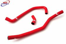 YAMAHA YFM 700 R RAPTOR 2006-2017 HIGH PERFORMANCE SILICONE RADIATOR HOSES RED
